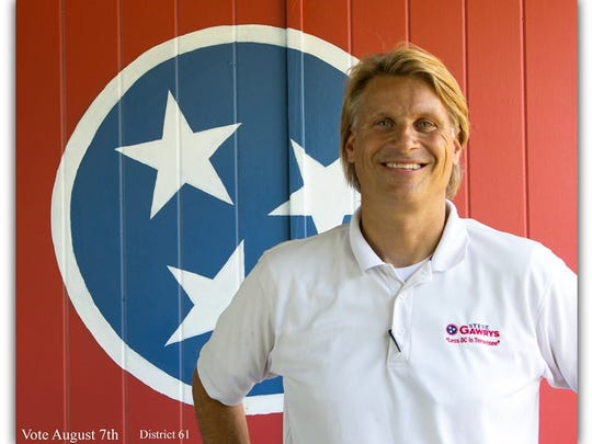Brentwood business owner Steve Gawrys is a Republican