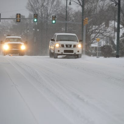 Temperatures reached below freezing in Jackson Wednesday