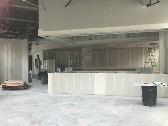 Sea Salt on Mass Ave is under construction. It will host 200 seats, including a large bar area and a patio.