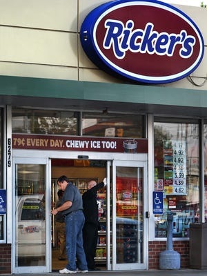 A Ricker's store in Indianapolis.