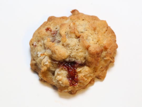Raspberry Walnut Winks