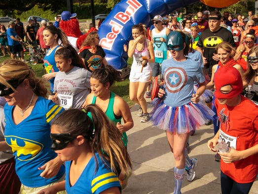 Heroes and villains compete at Crawl Reno's Arch Rivals