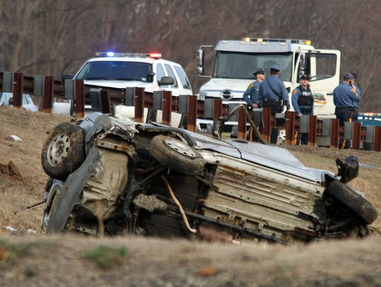 Crash on garden state parkway near pnc bank arts center for Garden state parkway south accident