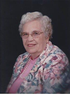 Florence Elnora Paine, 90