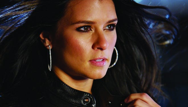 Danica Patrick ?zips up? during GoDaddy?'s 2008 Super Bowl ad.