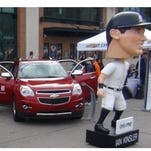 Those professional athletes have such big heads, they think they can park their cars anywhere.