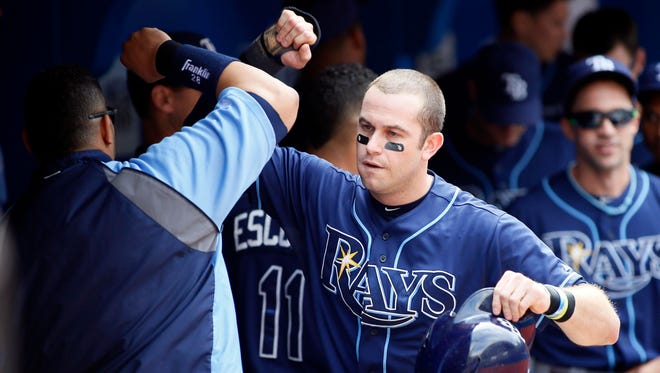 Evan Longoria and the Rays jumped out to a 7-0 lead in Toronto, then held on.