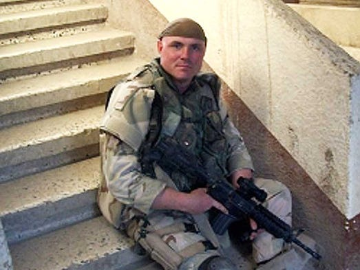 Robert Dalke, 38, of Willard, had one tour in Iraq in 2004-05.