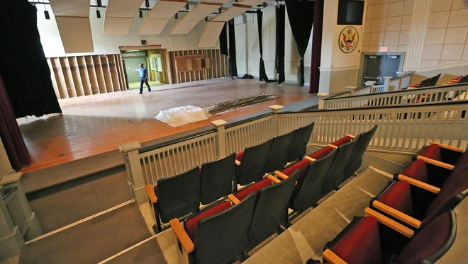 The theater at Fort Benjamin Harrison, 8920 Otis Ave., was decommissioned along with the fort in 1996. This fall, it's coming back to life with Partnerships for Lawrence, a local arts organization.