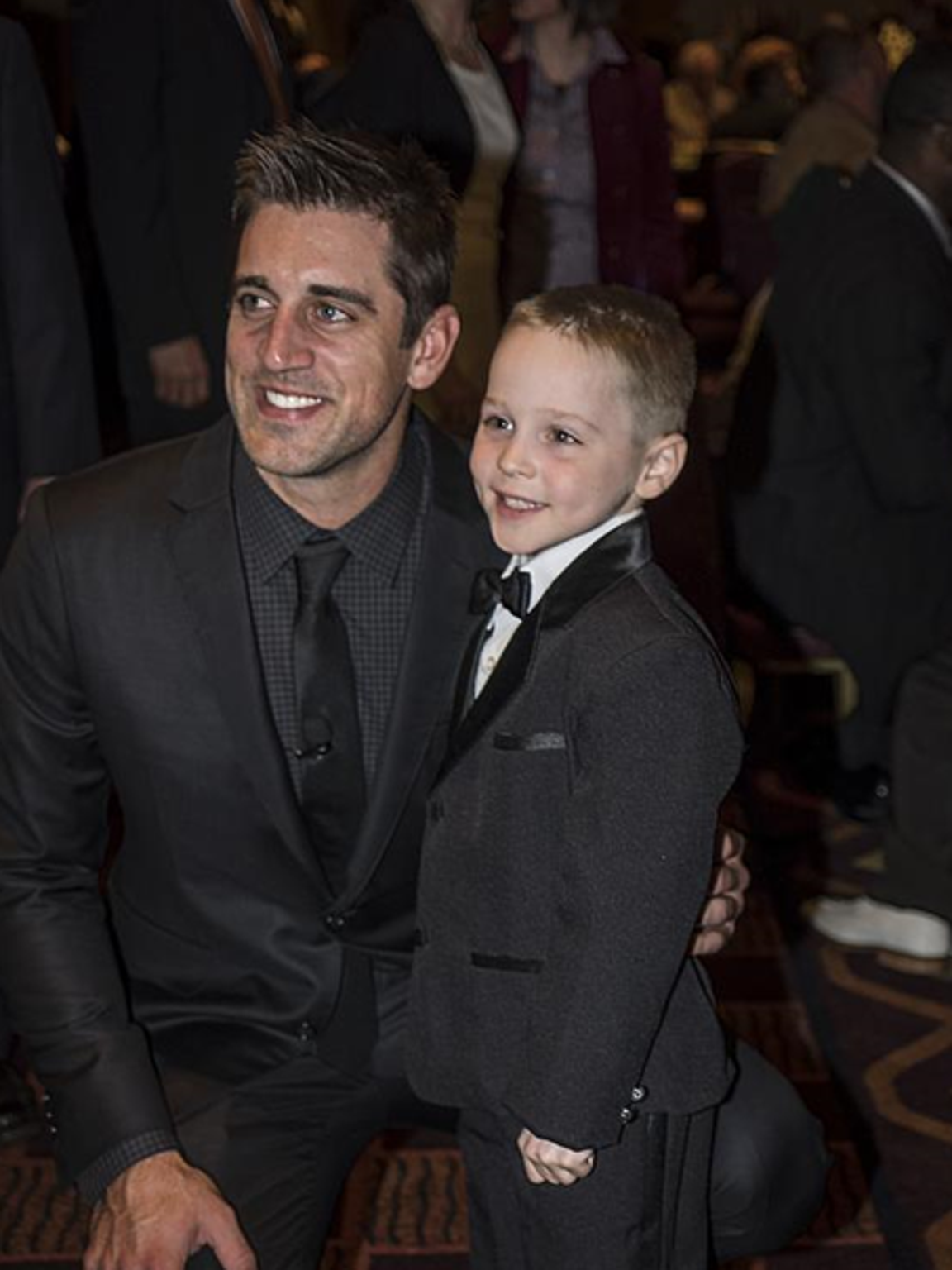 Rodgers has helped raise more than $2 million for the