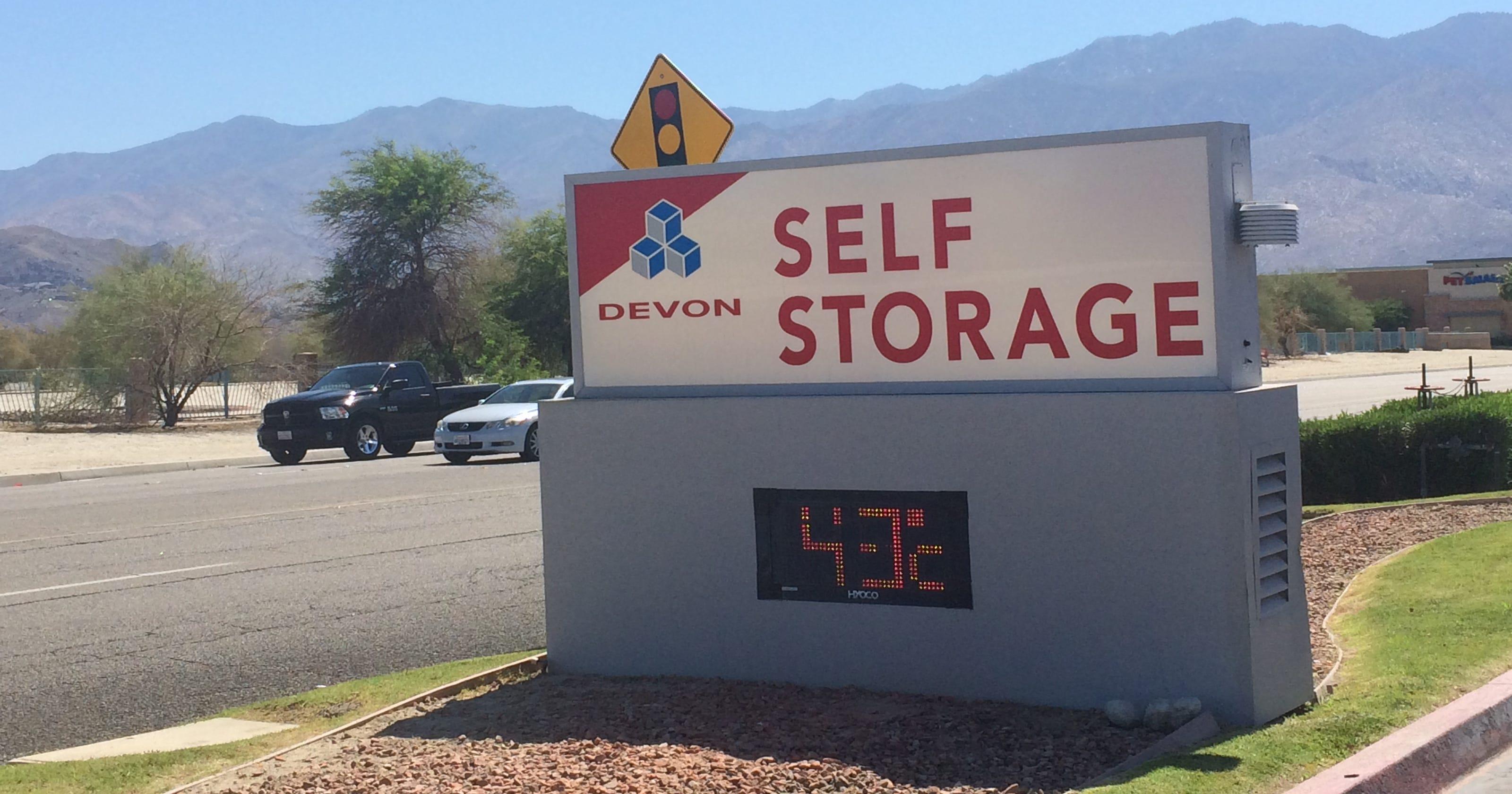 Devon Self Storage Palm Springs Dandk Organizer