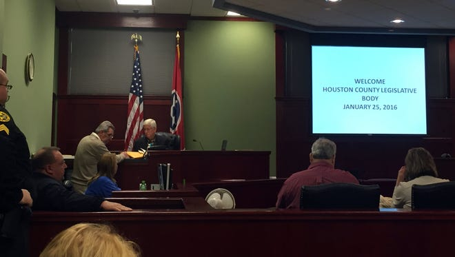 The Houston County Commission met Monday, Jan. 25 at the Houston County Courthouse.