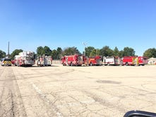 Owens Corning fire prompts large response