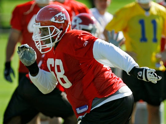 Former Kansas City Chiefs guard Will Shields was selected