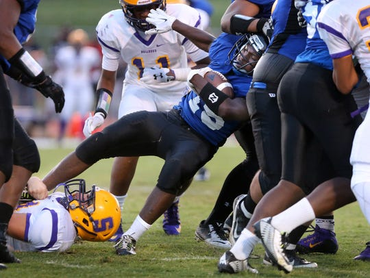 La Vergne's Nick Jones leads Rutherford County in rushing