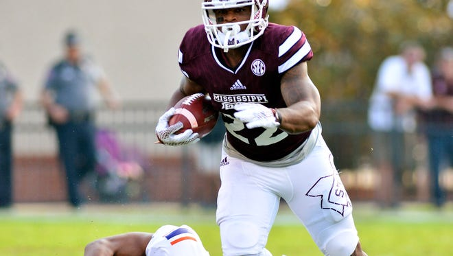Mississippi State wide receiver Malik Dear produced big numbers this spring.