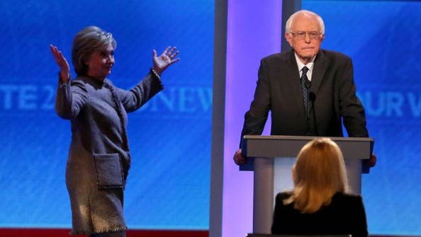 BERNIE LOOK OUT BEHIND YOU SHE'S RIGHT THERE