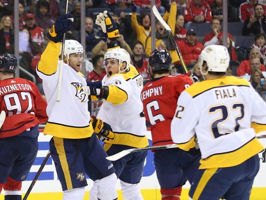 NHL: Nashville Predators at Washington Capitals