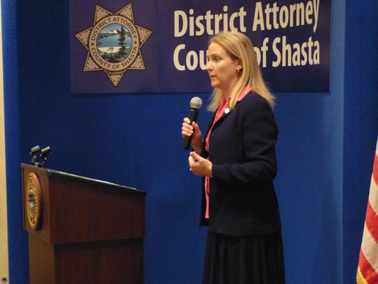 Shasta County District Attorney Stephanie Bridgett