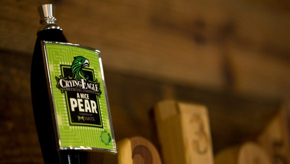 A Nice Pear, the new Waitr-brand beer made by Crying