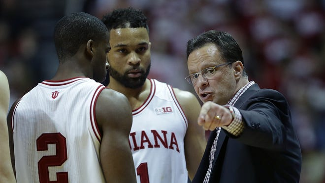 Tom Crean and the Hoosiers need wins to ease their place on the NCAA tournament bubble.
