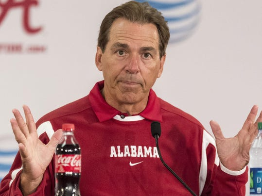 Alabamas Nick Saban Says Satellite Camps Are Bad For College