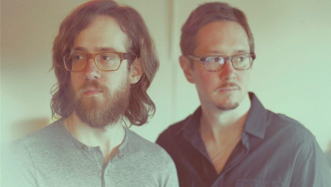 Brothers Jesse and Casey Cooper make up synth/atmospheric rock duo The Receiver.