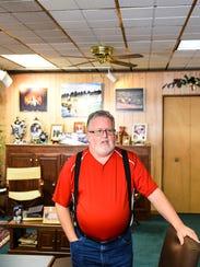 Robert Howard, owner of Howard Studios, 738 Cumberland