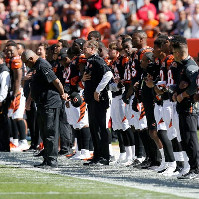 Paul Daugherty Blog: Here are the best options to fix National Anthem protests for the NFL