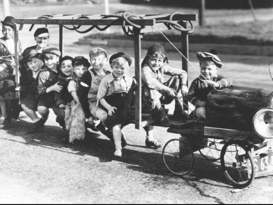 The cast of 'The Little Rascals' (GNS Photo)