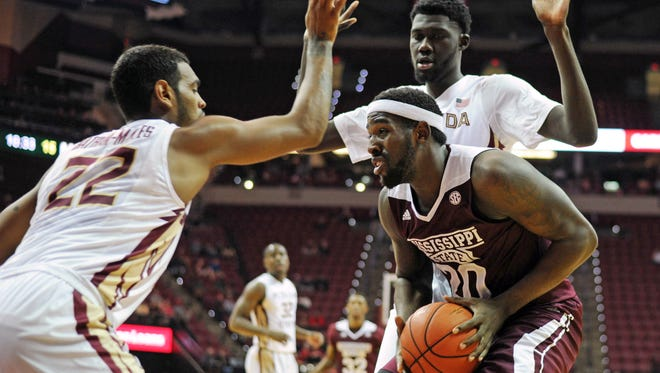 Mississippi State's leading scorer, Gavin Ware, is doubtful for Saturday's game with a bone bruise.