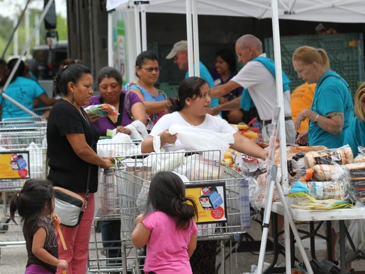 Harry Chapin Mobile Food Pantry