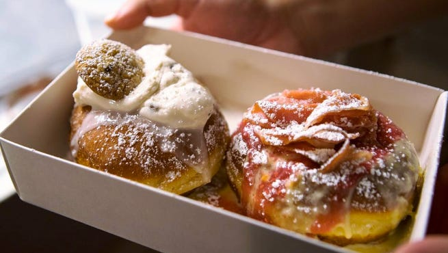 Lonesome Dove, Knoxville, has expanded sales of its popular Back Dough doughnuts