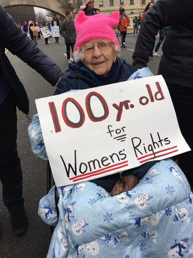 Mary Parker turned 100 on Jan. 20 and drove with her
