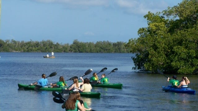 """Enjoy kayaking for the 25th anniversary of """"Ding"""" Darling."""