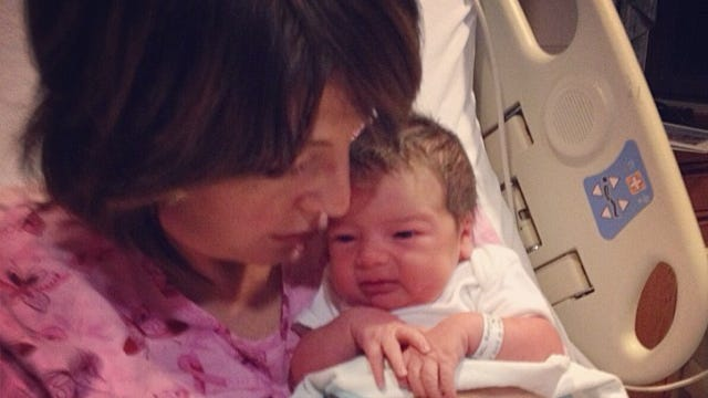 Rep. Catherine McMorris Rodgers and her new arrival, Brynn Catherine.