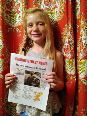 Hilde Kate Lysiak, age 9,  recently wrote about a suspected murder in her small Pennsylvania town and is defending herself after some locals lashed out about a young girl covering violent crime.