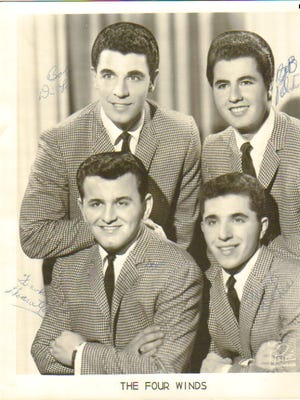 The Four Winds was a musical group from the 1960s comprised of Bound Brook High School graduates that also performed under the name The Brooks Four.