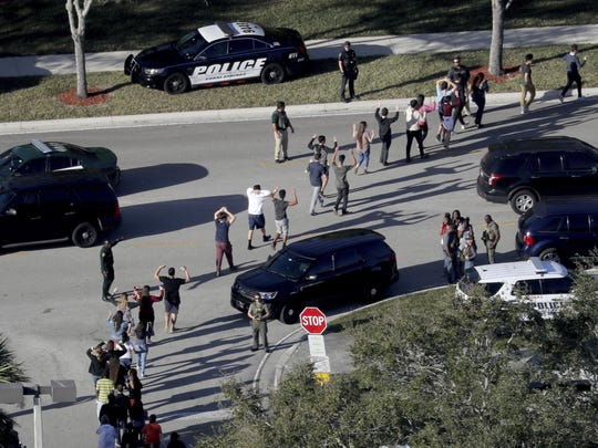 A shooter killed 17 people in February at Marjory Stoneman