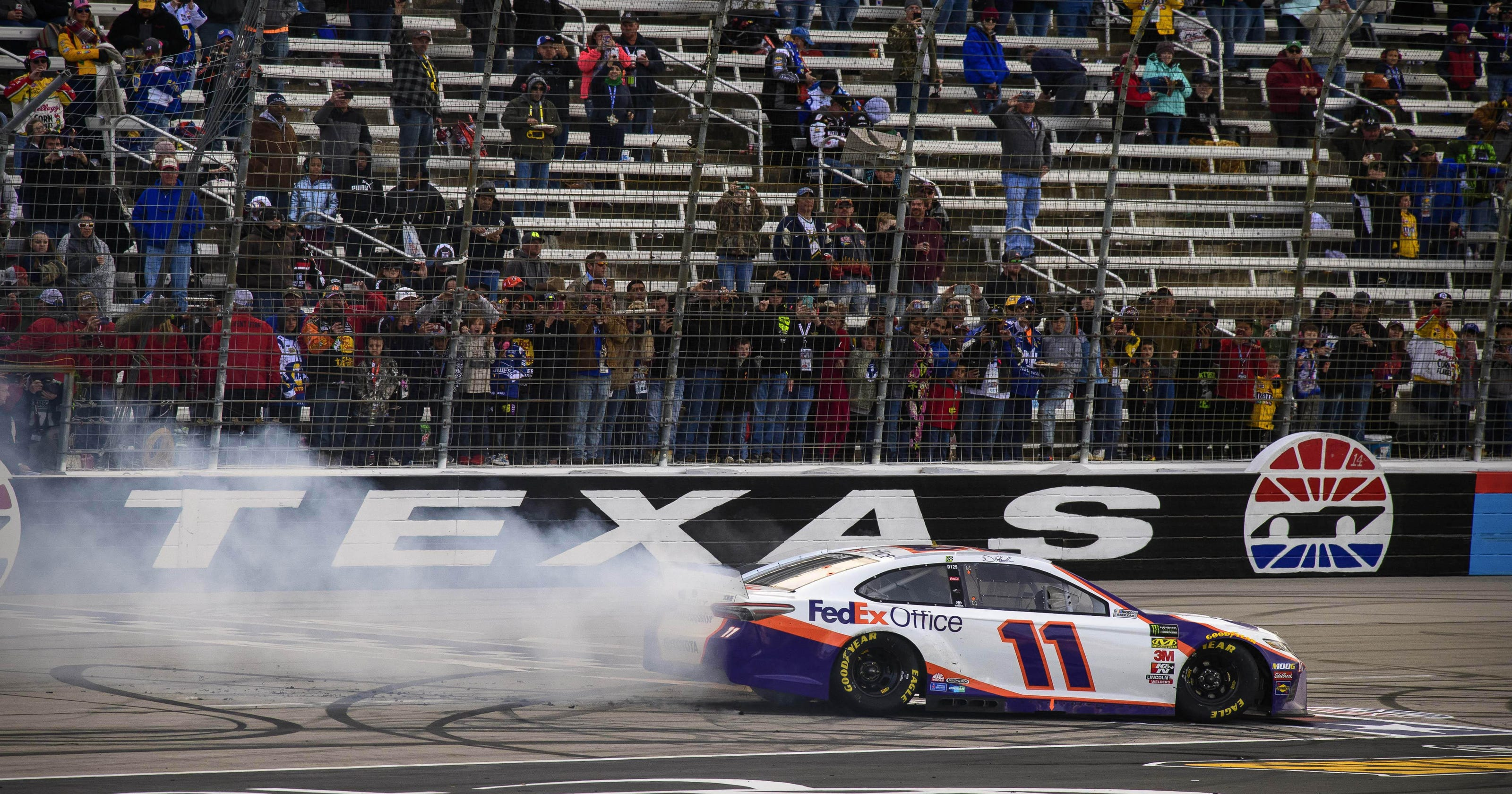 NASCAR Cup Series at Texas: Starting lineup, TV schedule for Sunday's race