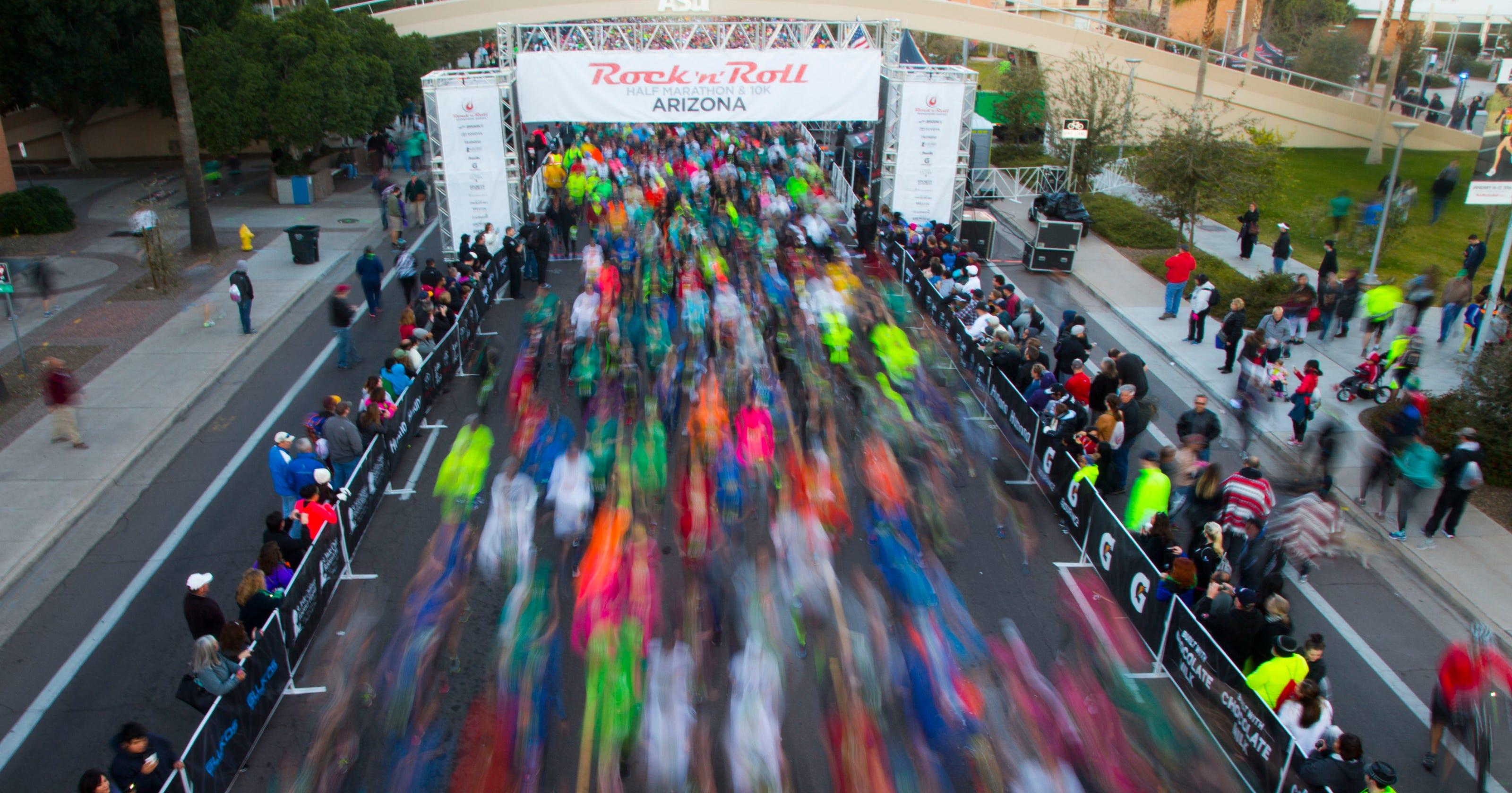 Rock 'n' Roll Arizona ½ Marathon womens results 2016