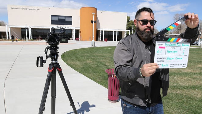 Organizer Brent Garcia says he hopes to see between 500 and 1,000 people attend the inaugural Four Corners Film Festival in September in downtown Farmington.