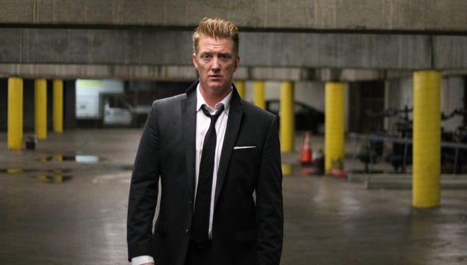"""Josh Homme in the video for Queens of the Stone Age's """"Smooth Sailing."""""""