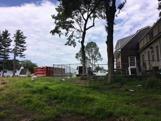The historic Vanderbeck House in Fair Lawn, seen last year during construction, will be preserved and incorporated into a new housing development.