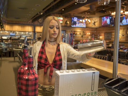 Madison Terry, a Twin Peaks restaurant employee at