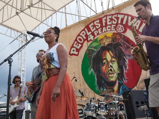 The Peoples Festival 4 Peace & Tribute to Bob Marley, shown last year, returns July 25.