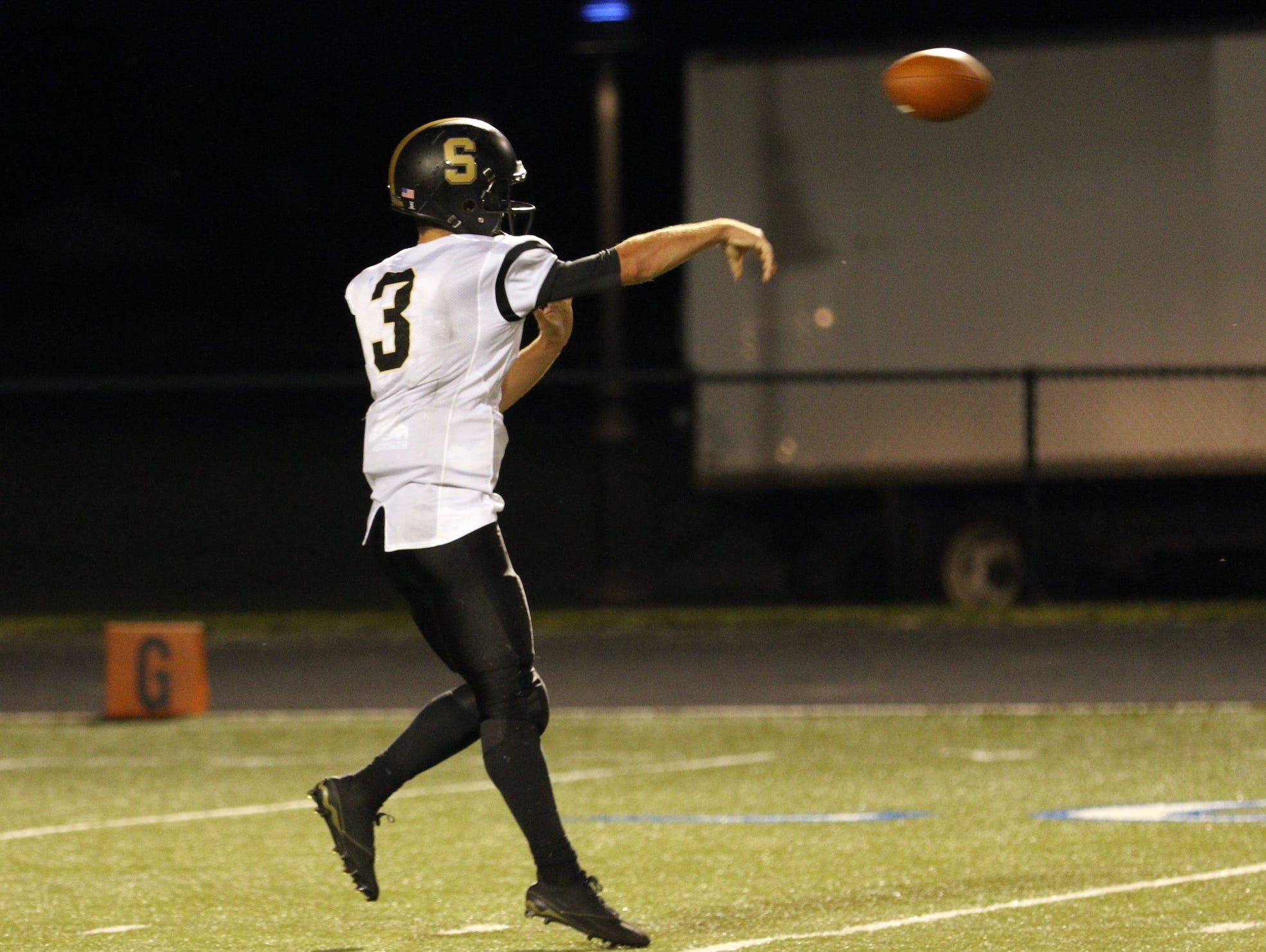 Shelbyville QB John Lux is putting up video game-type numbers early on this season.