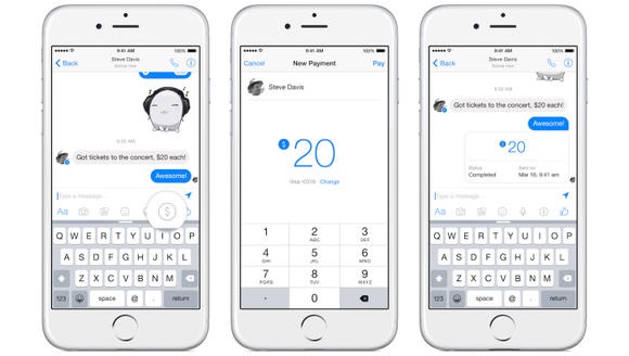 Facebook lets you pay friends with PayPal in Messenger
