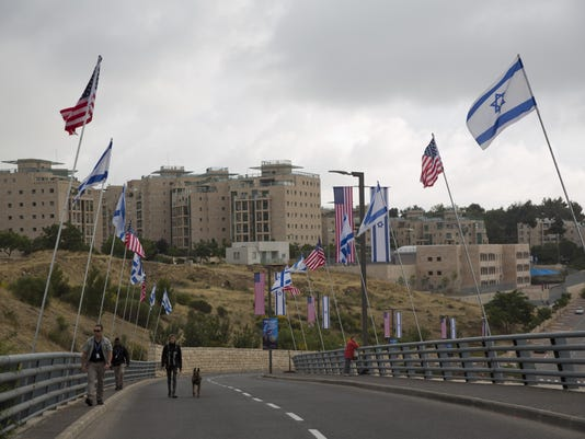 Mideast US Embassy To Jerusalem