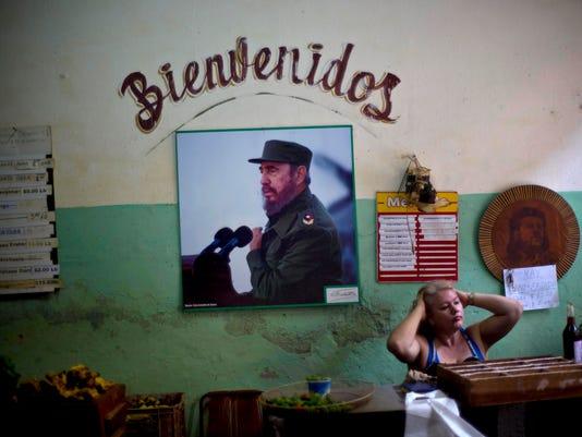 Cuba US Fidel Castro